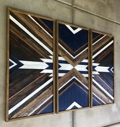 New listing‼️ Very special 3 panels XL wood wall art, on the stage 👏🥰 Wood Mosaic, Mosaic Wall Art, Mural Wall Art, Diy Wall Art, Large Wood Wall Art, Reclaimed Wood Wall Art, Wooden Wall Art, Scrap Wood Art, Wall Wood