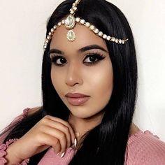 GLAMOROUS GOLD Head Chain Matha Patti Grecian Goddess Bridal