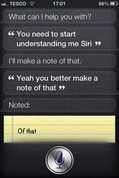 Siri has an attitude problem
