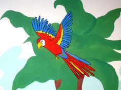 Parrot by Emily Trotter Illustration