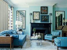 M s de 1000 ideas sobre colores de pintura turquesa en - Pintura azul turquesa ...