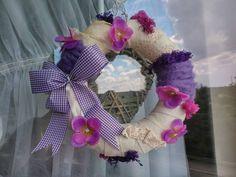 my handmade wreath