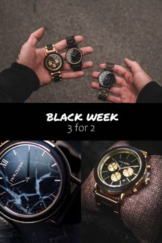 3 watches for the price of only - Get the best deal of the year now and get 3 wooden core clocks for the price of Choose from over - Elmo, Self Love Books, Gq, Black Week, Le Prix, Beautiful Soup, Cool Inventions, Diy Fashion, Fashion Clothes