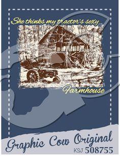 barn tractor Farmhouse country #grafcow
