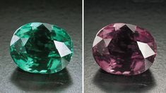 This 7.19-carat alexandrite was cut to feature its beautiful color change. When the light source changes from daylight to incandescent light... GIA (011414)