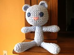 Free bear pattern easy and quick baby gift