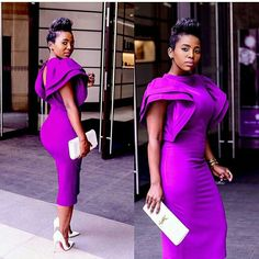 2018 New sexy robe de bal courte high neck purple prom cocktail dresses evening wear sheath tea length arab formal Prom gowns party dress Cocktail Dress Prom, Womens Cocktail Dresses, Black Cocktail Dress, African Attire, African Fashion Dresses, African Dress, African Style, Prom Dresses 2016, Cheap Dresses