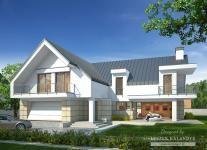 Projekt domu LK&1456 - Gotowe projekty domów jednorodzinnych LK&PROJEKT