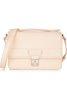 3.1 Phillip Lim The Pashli Mini Messenger textured-leather shoulder bag | NET-A-PORTER