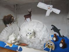 arctic diorama for Jael   (image from Darcy)