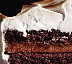 Beaux Desserts, Köstliche Desserts, Delicious Desserts, Yummy Food, Dessert Healthy, Fun Food, Devils Food, Chocolate Fudge Cake, Chocolate Desserts