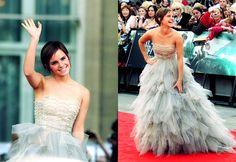 Emma Watson in Oscar de la Renta #HP8premiere #emmawatson #oscardelarenta