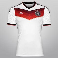 Netshoes - Camisa Adidas Seleção Alemanha Home 2014 s nº - Jogador  Netshoes 379ec1beebec1