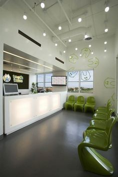 small office lobby decorating ideas - Google Search