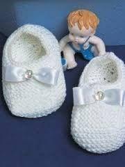 Resultado de imagem para receita sapatinho infantil croche