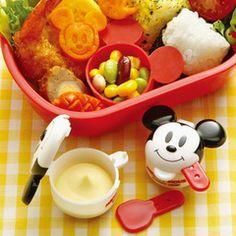 マヨネーズ&ケチャップケースミッキーマウスキャラクターお弁当グッズ