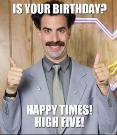 is-your-birthday-happy-times-high-five.jpg (552×637)