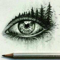 Astonishing eye pencil drawing amazing pencil drawings, amazing sketches, p Eye Pencil Drawing, Realistic Eye Drawing, Drawing Eyes, Pencil Art, Painting & Drawing, Drawing Artist, Pencil Drawings Of Eyes, Creative Pencil Drawings, Amazing Drawings