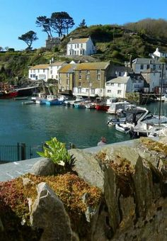 Polperro, Cornwall, England