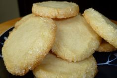 The Pastry Chef's Baking: Diamond-Edged Melt-in-Your-Mouth Butter Cookies