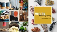 Modern Thanksgiving / Dwell Studio contest