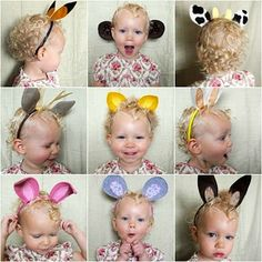 Ears for pretend play