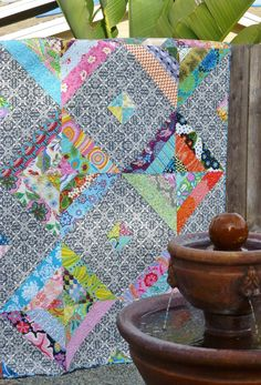 Roundabout Quilt---Free Pattern