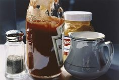 Quartet, by Ralph Goings. Ralph Goings was an original member of the Hyperrealist group of painters in California during the late . Action Painting, Pop Art, Artist Bio, Incredible Edibles, Soda Fountain, Realistic Paintings, Photorealism, Art Abstrait, Sculpture