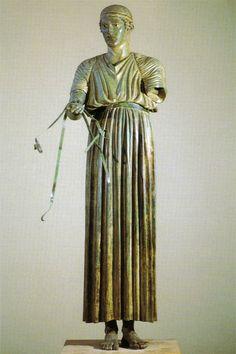 El auriga de Delfos