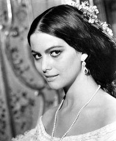 """Claudia Cardinale in """"Il gattopardo"""" (The Leopard - 1963)"""