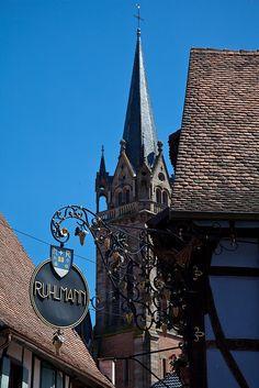 La maison bleue Ruhlmann, Dambach-la-Ville, Alsace