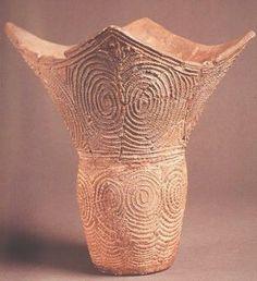 Early Jomon Pottery Early Jomon (5000 2500 B.c.). Japanese - 336x368 - jpeg