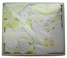 swakidsstore,Bambini 7 Piece Gift Box - Yellow