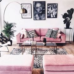 34 Most Popular Small Modern Living Room Design Ideas for 2019 - Home Design Living Room Furniture, Living Room Decor, Bedroom Decor, Wooden Furniture, Dining Room, Furniture Sale, Antique Furniture, Furniture Websites, Pink Living Rooms