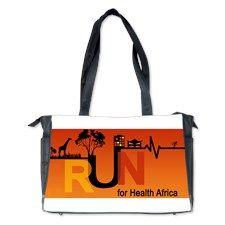 RUN FOR HEALTH AFRICA [UBRICA ONE] Diaper Bag