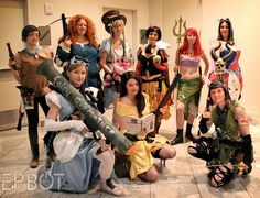 Disney princesses ready for battle