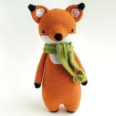 Amigurumi Crochet Fox Pattern by Little Bear Crochets Crochet Fox, Crochet Doll Pattern, Easy Crochet Patterns, Crochet Patterns Amigurumi, Amigurumi Doll, Crochet Dolls, Scarf Crochet, Doll Patterns, Giraffe Crochet