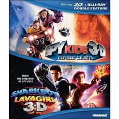 Sky Kids 3-D: Game Over / The Adventures Of Sharkboy And Lavagirl ...