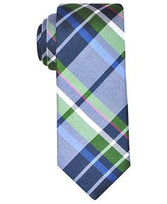 Ben Sherman Tie, Skinny London Large Plaid - Mens Ties - Macy's