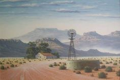 Image result for karoo landscape images South African Art, Art Oil, Flower Art, Paris Skyline, Places To Go, Past, Illustration, Google Search, Nature