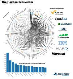 Hadoop Ecosystem as of June 2012 created in Datameer - number of partnerships