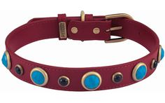 Dosha Dog unveils a new line of natural stone collars at Dog Collar Boutique