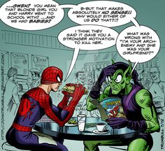 Spidey and The Goblin