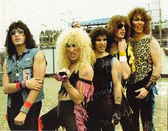 Twisted Sister, my band. Music Pics, 80s Music, Music Stuff, Rock Music, Sound Of Music, Music Is Life, Twister Sister, 80s Heavy Metal, Sister Band