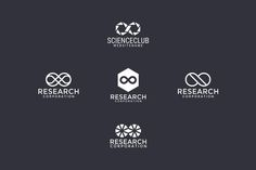 5 logos with infinity sign (1) by pne-design on @creativemarket