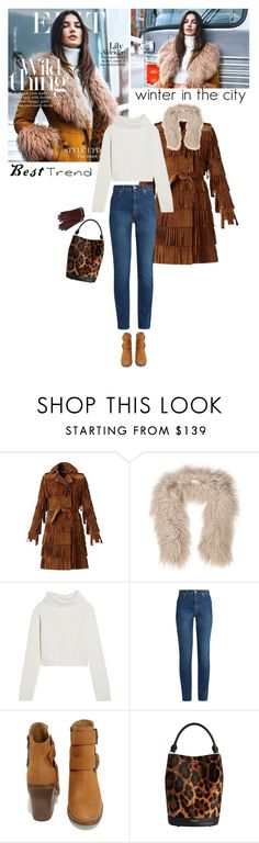 """""""wild winter"""" by helena99 ❤ liked on Polyvore featuring Burberry, Karl Donoghue, Haider Ackermann, Alexander McQueen, Steve Madden, Mulberry, fringe, suede, rollneck and HaiderAckermann"""