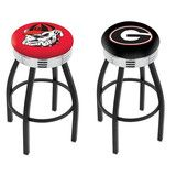 "University of Georgia 2½"" Ribbed Ring Bar Stool http://www.pinterest.com/sportsfansplus/"