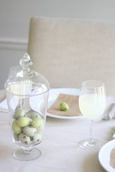 Spring Table Decor  Easy Simple Elegant