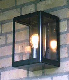 Buitenverlichting Atlanta 1996 vierkant zwart TuinExtra