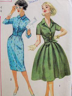 50s Bombshell Sheath or Full Skirted Dress by SoVintageOnEtsy, $18.00